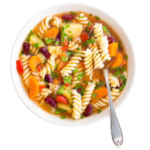 6 Different Soups Every Day